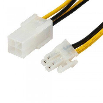 4 Pin Power Extension Cable (Male) to (Female) 15cm