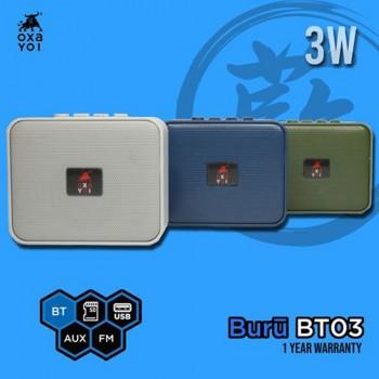 OXA Buru BT03 Speaker - Silver