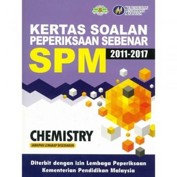 Kertas Soalan Peperiksaan Sebenar SPM Chemistry 2011-2017