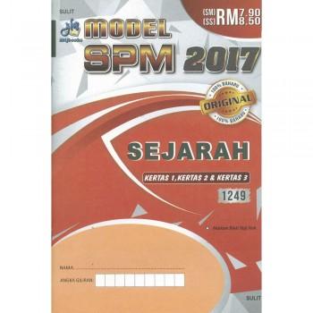 Model SPM 2017 Sejarah Kertas 1, Kertas 2 & Kertas 3 1249