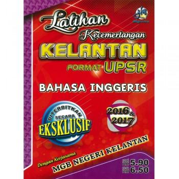 Latihan Kecemerlangan Kelantan Format UPSR Bahasa Inggeris