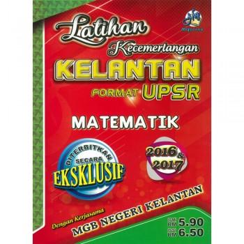 Latihan Kecemerlangan Kelantan Format UPSR Matematik