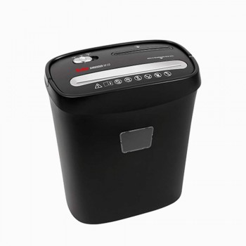 Geha Shredder Home & Office X8 CD - Cross-cut paper,5 x 38mm,2.25m/Min.15 litre (Item No: G06-15) A7R1B8