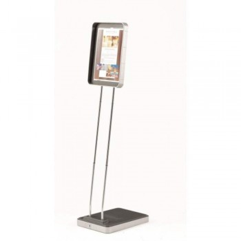 Floor Sign Holder Infostand Solo 550050 - For A4 Documents