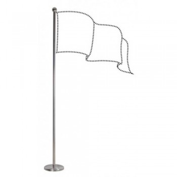 Indoor Flag Pole FP444 - Height 300cm (10')