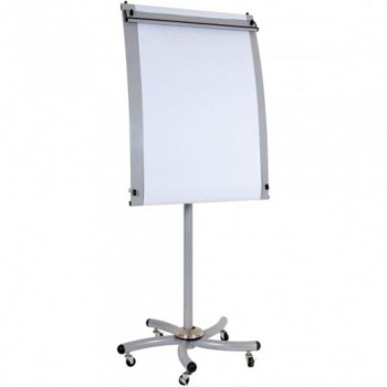 Pro Flip Chart EX81S - 176-196H x 74W x 72D - Silver (Item No: G05-26)