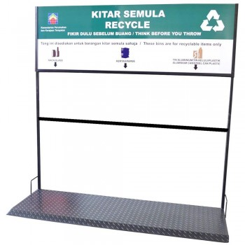 Recycle Signage For BP 120L (Item no: G01-174)