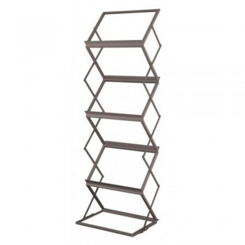 Newspaper & Magazine Rack LT362 - 370W x 500D x 1520H (Item No: G05-77)