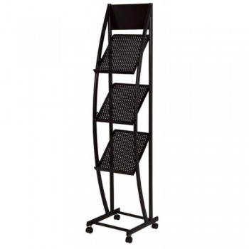 Newspaper & Magazine Rack MR1518 - 310W x 330D x 1350H (Item No: G05-81)