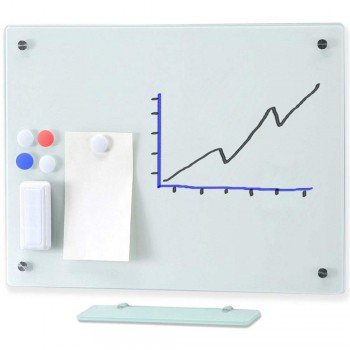MGW912 Magnetic Glass Board 120 x 90CM (Item No:G05-201)