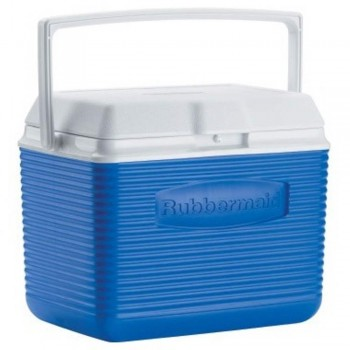 "Rubbermaid 10 Qt Cooler 2A11 - 9.5 Litre (10.5""L x 13.4""W x 9.14""H) (Item No: H02-01) A8R1B29"
