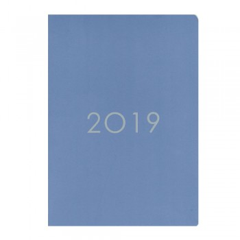 2019 Monthly Planner PNS-A5 Blue