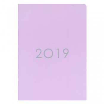 2019 Monthly Planner PNS-A5 Purple