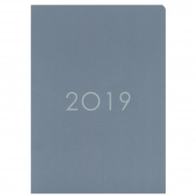 2019 Monthly Planner PNS-A5 Grey