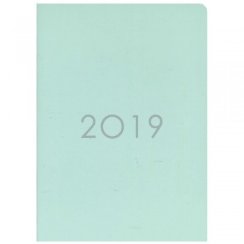 2019 Monthly Planner PNS-A5 Mint Green