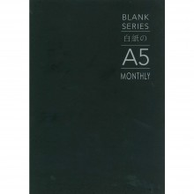 Blank Series A5 Monthly Planner BSNB-MO