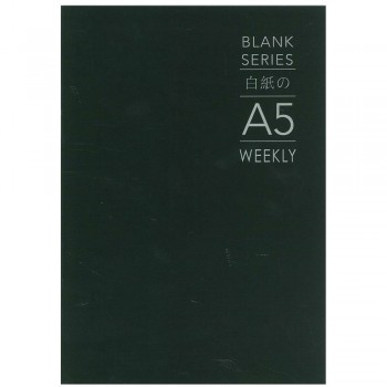 Blank Series A5 Weekly Planner BSNB-WE