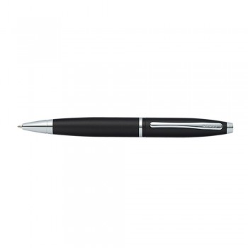 Cross Calais Matte Black Ballpoint Pen With Chrome appointments