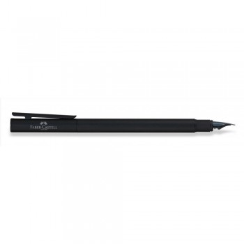 Faber Castell Matt Black Shiny Fountain Pen (EF, F, M & B)