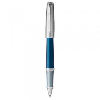 Parker Urban Premium Silver Blue Rollerball Pen