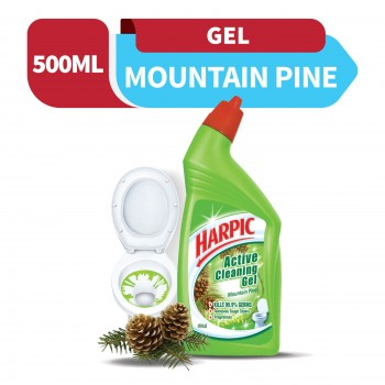 Harpic Liquid Toilet Cleaner Mountain Pine Bottle 500ml
