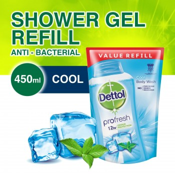 Dettol Body Wash Liquid Cool 450ml