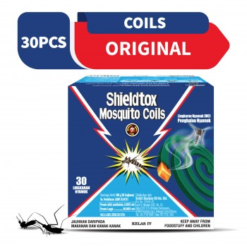Shieldtox 8 hours Mosquito Coil 30 pieces