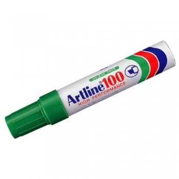Artline 100 Giant Permanent Marker - EK-100 12mm Green