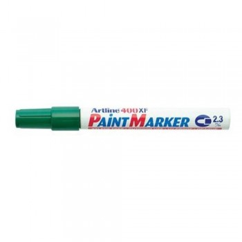 Artline 400XF Paint Marker Pen - 2.3mm Bullet Nib - Green