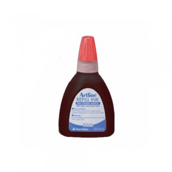 Artline ESK-50A-60 Whiteboard Refill - 60ml Red