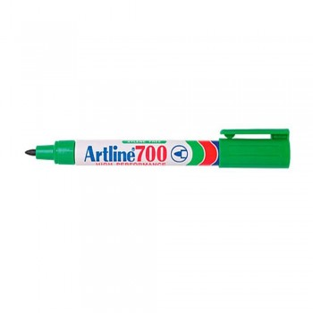 Artline 700 Permanent Marker Pocket Clip 0.7mm Green
