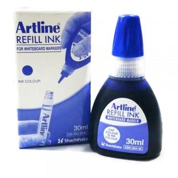 Artline Permanent Marker Refill 30ml Blue