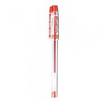 Buncho Fine Tech 0.4mm Gel Pen-Red