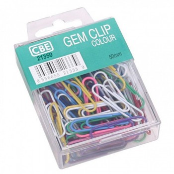 CBE GEM CLIP Paper Clip & Pin-50MM-30PCS ( ITEM NO : B03 25 )