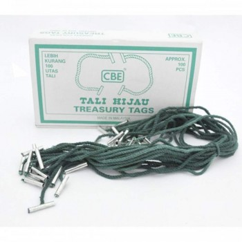 CBE Treasury Tags 8T (Item No: B10-156) A1R4B36