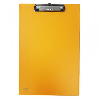 CBE 1340 PVC H-Clip Board (FC) Orange