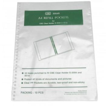 CBE 359AR A4 Refill Pockets (Item No: B10-04) A1R2B74