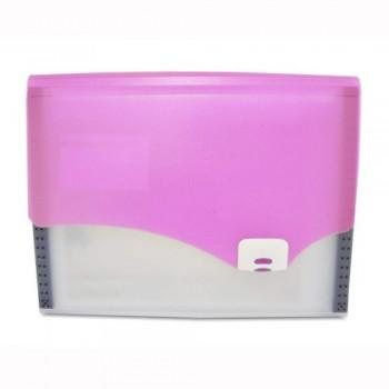 CBE 4307 Expanding File (A4) - Pink (Item No: B10-17 P) A1R5B16