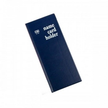 CBE N160 PVC Name Card Holder - Blue (Item No: B01-16BL) A1R2B16