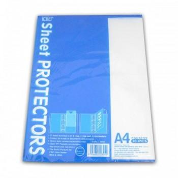 CBE Sheet Protector 305A A4 (10's) - Item No: B10-62) A1R1B104