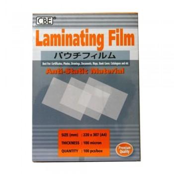 CBE 130148 A4 100Micron Laminating Film