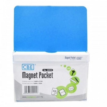 CBE Magnet Pocket 22215 A5 - Blue (Item No: B10-186L) A1R3B131