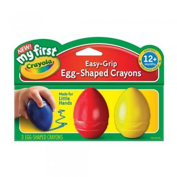 Crayola 3 Palm Grip Crayons - 811345