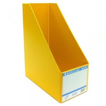 """EAST FILE PVC MAGAZINE BOX 412 4"""" (Item No: B11-95 YL)"""