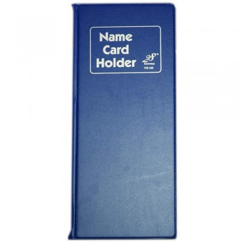 EAST FILE NH240 Name Card Holder Blue (Item No: B01-50)