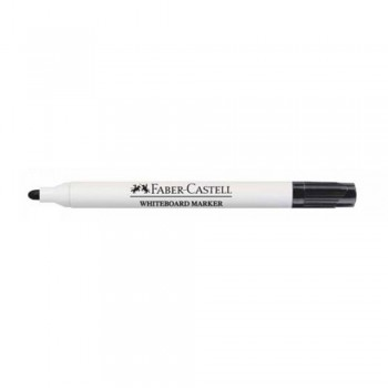 Faber Castell White Board Marker Black Bullet Point - 258799