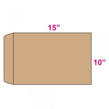 Brown Envelope - Giant - 10-inch x 15-inch