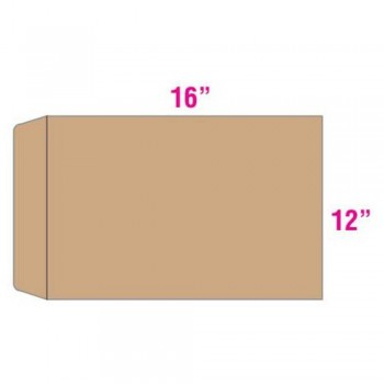 Brown Envelope - Manila - 12-inch x 16-inch