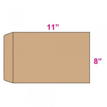 Brown Envelope - Manila - 8-inch x 11-inch