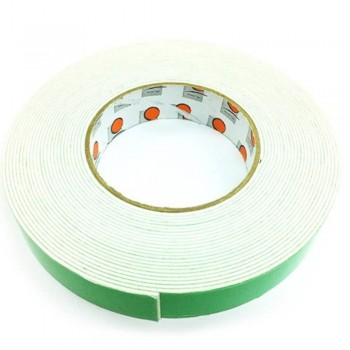 Foam Tape - 24mm x 10m, 3mm thick, White (Item No: B02-10 DSF24X10W) B02-10 DSF24X10